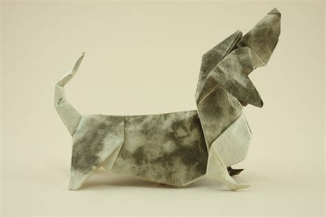 Origami Dachshund - 22 excellent origami models for