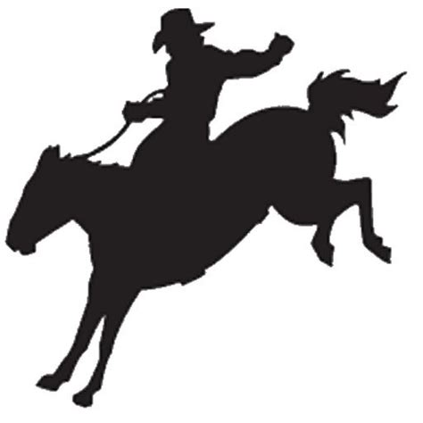 cowgirl silhouette vector free download two beautiful cowboy bucking silhouette country western pinterest