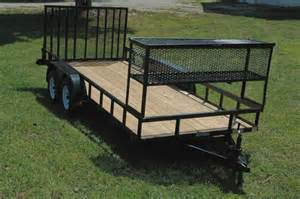 landscaping trailer landscape utility trailers currahee trailers mount airy