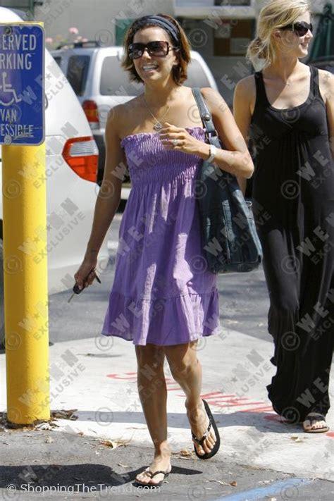 Longoria Lilac Shopbop Dress by Get Longoria S Pretty Lilac Strapless Sundress