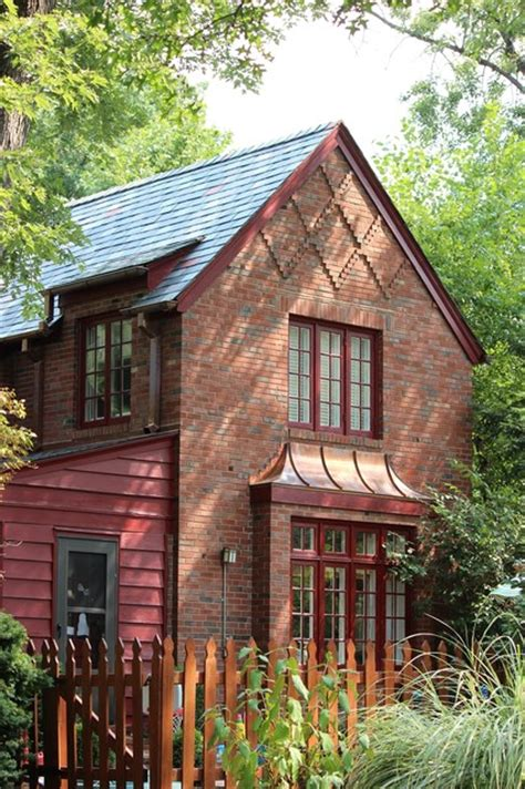 Who Wrote Brick House by Teasdale Slate Roof Restoration St Louis Traditional Exterior St Louis By Innovative