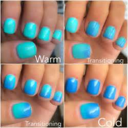 nail that changes color nail change color gel nail ftempo