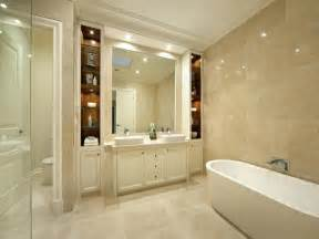 And white vanity inside gorgeous bathroom ideas wth marble tile wall