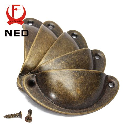 NED 20PCS Retro Metal Kitchen Drawer Cabinet Door Handle And Furniture Knobs Handware Cupboard