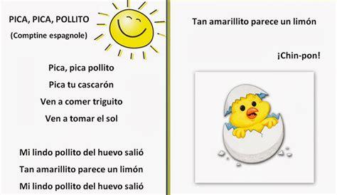 canciones infantiles letras y musica cortas canci 243 n pica pica pollito canciones infantiles