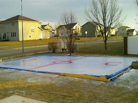 backyard ice rink tarps super fun outdoor winter activities