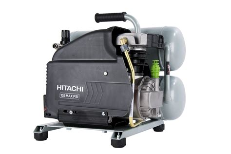 hitachi ec99s 4 gal portable electric air compressor nr90aes1 framing nailer ebay