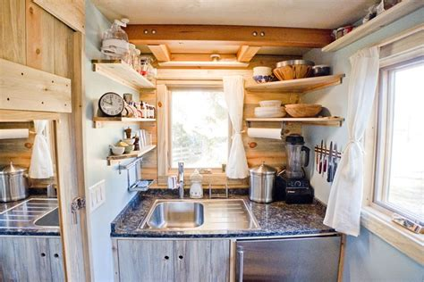 tiny home kitchen design live a big in a tiny house on wheels
