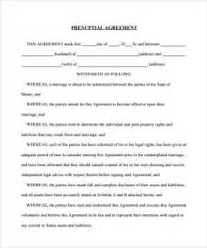 Prenuptial Agreements Templates by Prenuptial Agreement 8 Documents In Pdf