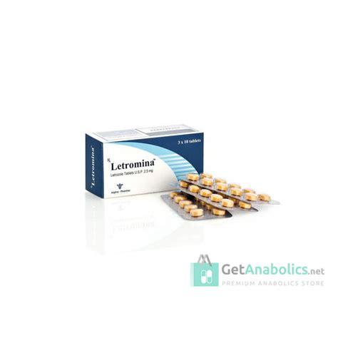 Letromina Alpha Pharma Ecer 10tabsstrip Letrozole Femara 25mg Comprare Letrozole Da Getanabolics