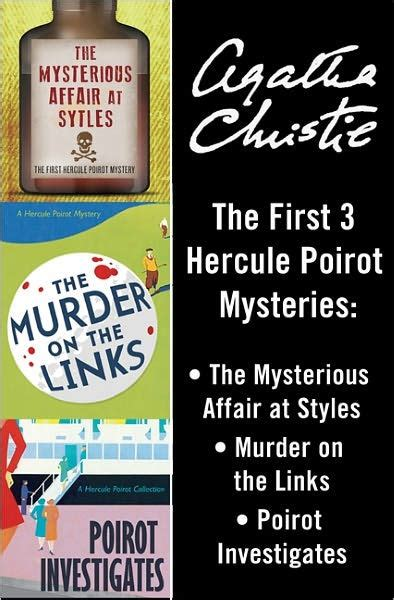 poirot investigates by agatha christie nook book ebook barnes noble 174 hercule poirot bundle the mysterious affair at styles murder on the links and poirot