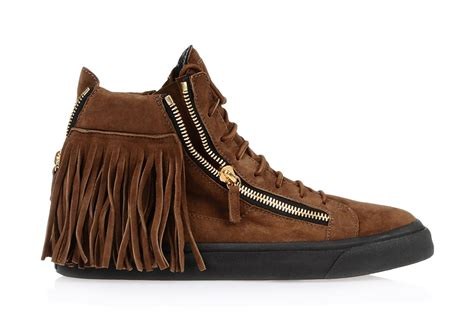 fringe sneakers giuseppe zanotti maxi fringe sneakers niceinharlem