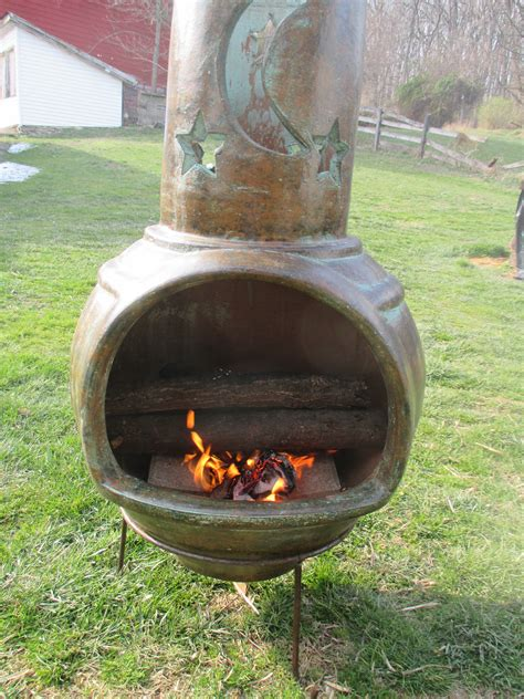 can you cook on a chiminea how to cook with a chiminea clay fireplace gt hanover koi