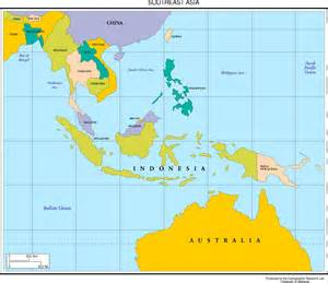 South And Southeast Asia Map by Maps Of Asia Page 2