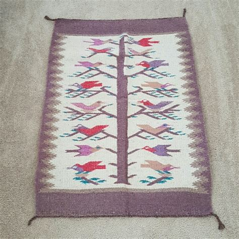 oaxacan rugs 96 other mexican oaxacan tree of birds wool rug from s closet on poshmark