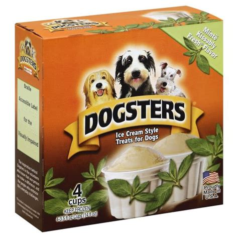 Kissably Fresh dogsters treats for dogs style minte kissably