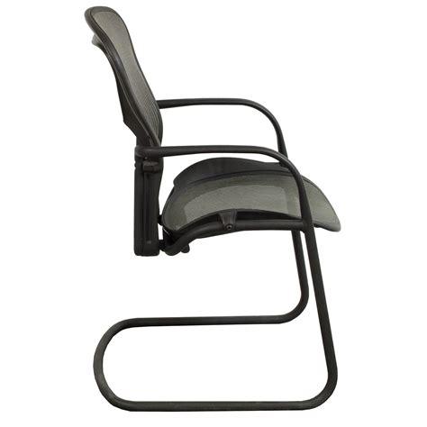 Aeron Side Chair by Herman Miller Aeron Used Side Chair Nickel National