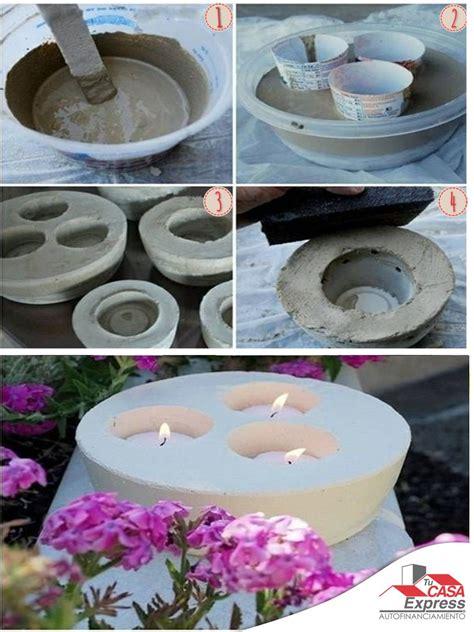 candelabros de yeso haz f 225 cilmente porta velas de yeso o cemento para decorar