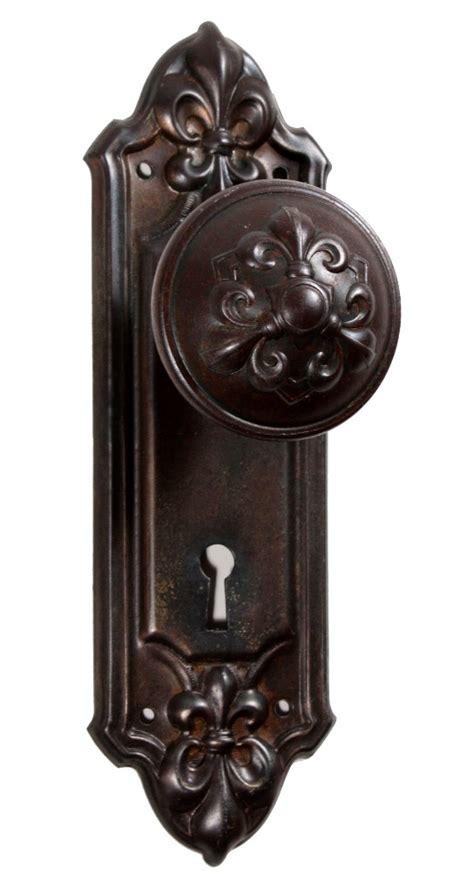 Antique Door Knobs For Sale by Antique Fleur De Lis Door Hardware Sets Fleuroy By Rhc