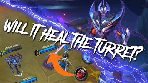 tutorial zhask mobile legend can bloodlust axe heal zhask turret mobile legends