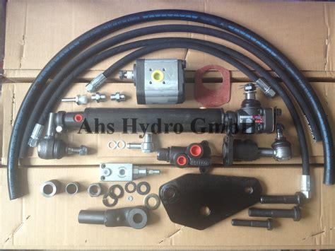 ahs hydro fiatagri hydraulische lenkung fiat 500 spezial
