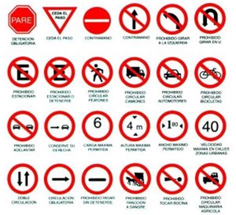 imagenes de simbolos que hay en la calle conoce los 4 tipos de se 241 ales de tr 225 nsito expomotor