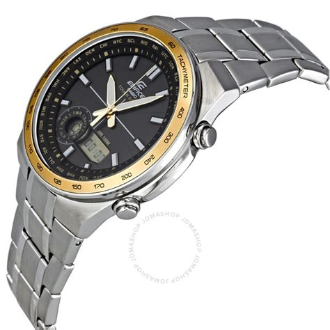 Edifice Casio Stainless casio edifice black stainless steel s efa134sb