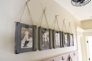 frame hanging diy hanging frames and shanty 2 chic