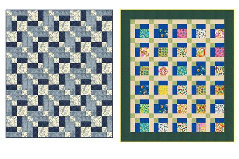 easy hopscotch baby quilt pattern