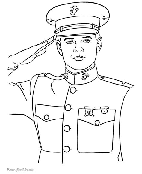 Army Coloring Pages To Print Coloring Home Coloring Pages For Soldiers