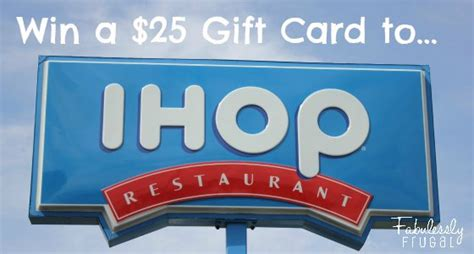 Ihop Gift Cards - new ihop brioche french toast plus a giveaway winner announced fabulessly frugal
