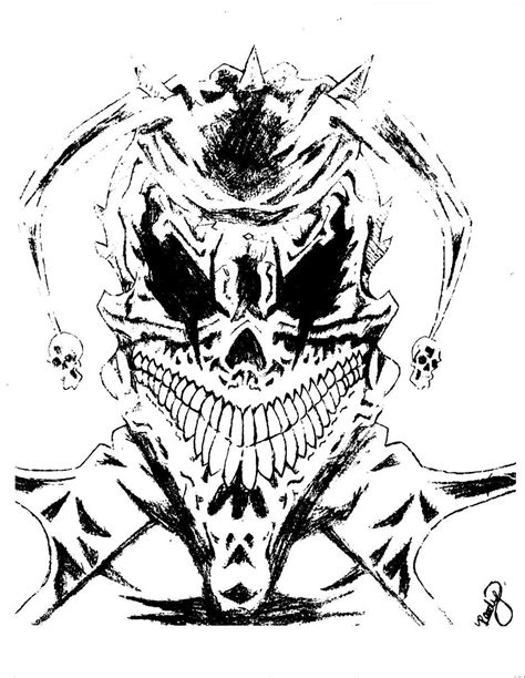 joker skull tattoo designs jester images designs