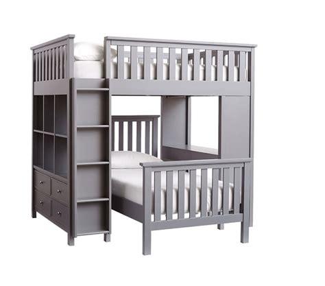 Elliott Full Loft System Twin Bed Set Pottery Barn Kids Bunk Bed Systems