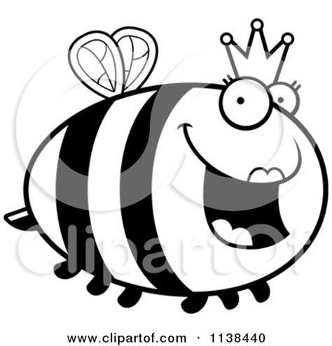 queen bee coloring page queen bee outline