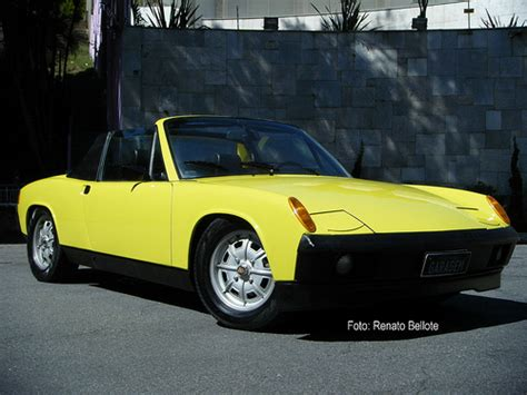 Yellow 1972 Porsche 914 Porschebahn Weblog