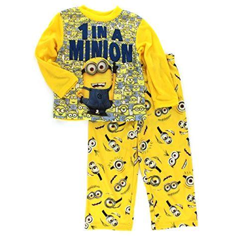 Pajamas Minion despicable me 2 one in a minion pajamas for boys 8 886166717859