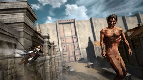 attack on titan 11 attack on titan ps4 new screenshots show special
