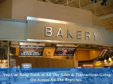 Bakery Sales by Bakery Point Of Sale System Software For Retail Bake Shops