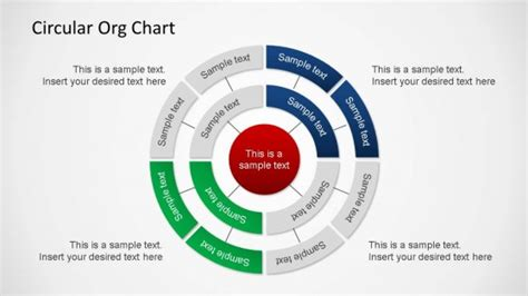 circular organizational chart template circular organizational chart powerpoint slidemodel