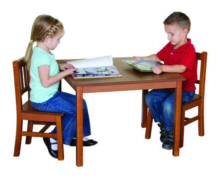 guidecraft childrens table and chairs guidecraft mission table and chair