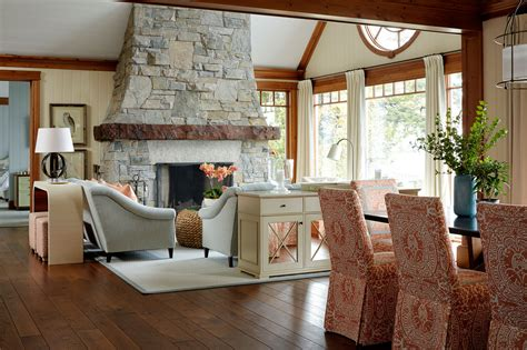 home tour anne hepfer s rustic modern lake house lakes designers open plan home tour a lake house by anne hepfer lonny