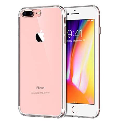 Iphone 8 Plus Back Cover Casing Sarung Bumper Premium Keren jetech apple iphone 8 plus iphone 7 plus 5 5 quot shock absorption cover bumper anti scratch