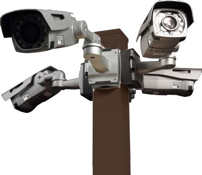 home security camera poles