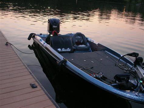 scat cat fishing boat retractable rod straps question bass cat boats