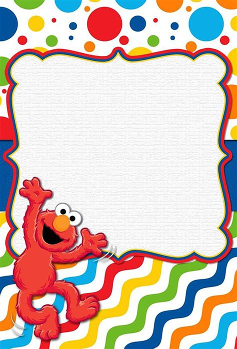 elmo template for invitations free printable elmo invitation templates invitations