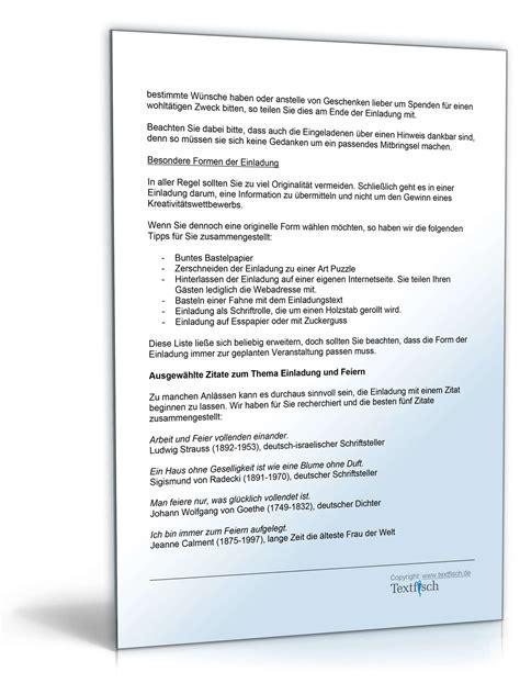 Muster Einladung Firmenfeier einladung sommerfest muster zum
