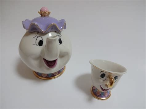 beauty and the beast pot disney beauty and the beast tea pot cup set teapot mug