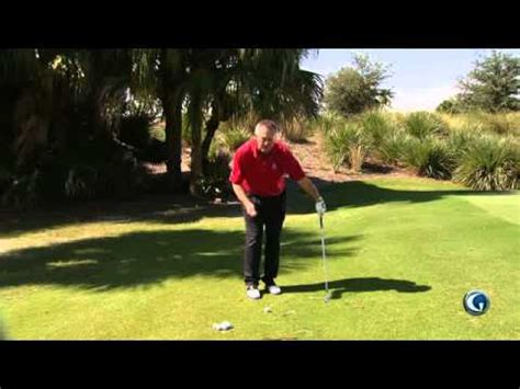 martin hall golf swing martin hall unique drill for chipping golf videos from