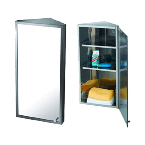 bathroom mirrors online shopping india buy corner mirror cabinet 30x60x18 5cm chrome plated