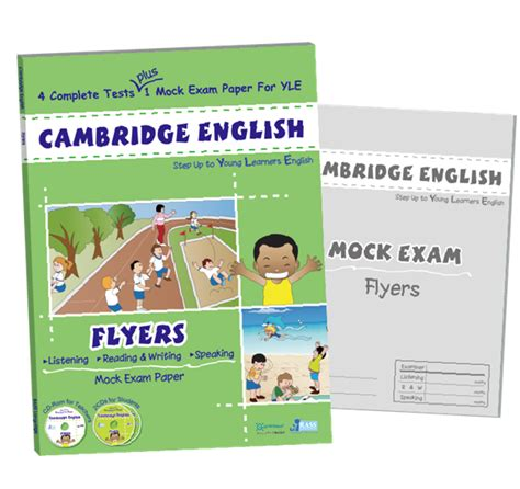 rass language cambridge english flyers 2 cd 1 cd rom 兒童圖書